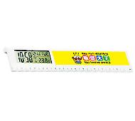 ルーラークロック(フルカラー名入れ専用)30cm定規
