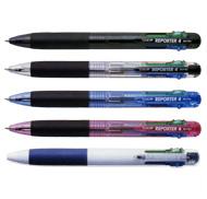 トンボ鉛筆 リポーター4 (4色ボールペン)
