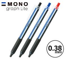 トンボ鉛筆 モノグラフライト(モノカラー) 0.38mmボールペン