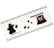スケールパズル くまモン15cm定規付