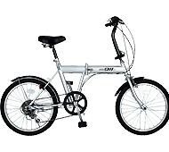 ノーパンク自転車 20インチ FDB20 6S 折りたたみ自転車