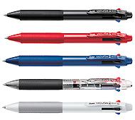 ぺんてる ビクーニャ 4色ボールペン0.7mm