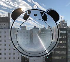 ワイドビュー(パンダ型)広角レンズ