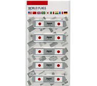 ワールドフラッグズ日本 国旗の絆創膏 5P