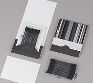 ブラックトーン 綿棒黒色10本+あぶらとり紙10枚