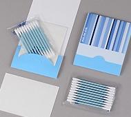 ブルートーン 綿棒水色10本+あぶらとり紙10枚