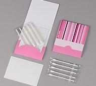 ピンクトーン 耳かき綿棒5本+あぶらとり紙10枚