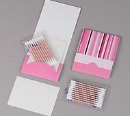 ピンクトーン 綿棒ピンク色10本+あぶらとり紙10枚