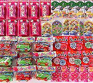 ジャンボラッキーパンチBOXおもちゃキット(72人用)