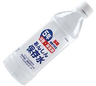 あんしん保存水 500ml (日本製)