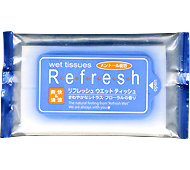 リフレッシュウェット(10枚入) (日本製)