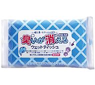臭いが消えるウェットティッシュ(10枚入)(日本製)