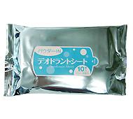パウダーインシートデオドラント(大判用)10枚(日本製)