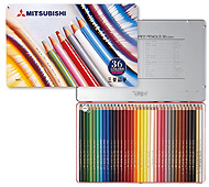 三菱鉛筆 色鉛筆880 36色