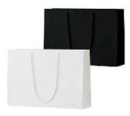 手提げ紙袋 シャイニーバッグL-W