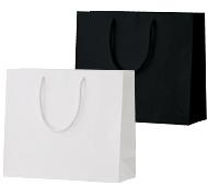手提げ紙袋 シャイニーバッグM-W