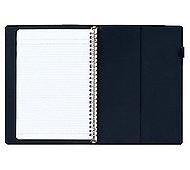 (業務用セット) マルマン インスピア プラスチックバインダー B5判(26穴) F017-02 ブルー 1冊入 (×5セット)