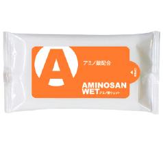 アミノ酸ウエットティッシュ10枚入 フルカラー印刷込み