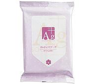 Ag汗ふきシートせっけんの香り 20枚 (日本製)