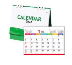 卓上カレンダー エコグリーン(大)
