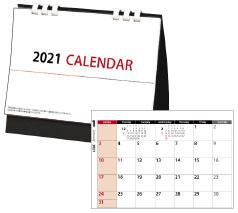 卓上カレンダー シンプル書込み大(六曜なし)