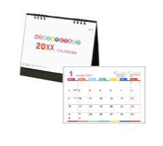 卓上カレンダー マンデースタート