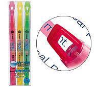 三菱鉛筆 プロパス・ウィンドウ 蛍光ペン3色セット