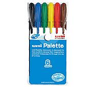 三菱鉛筆 食用染料サインペン 6色セット