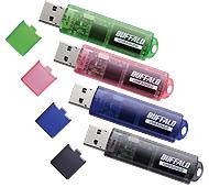 バッファローUSBメモリー8GB