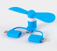 スマホ用ミニ扇風機