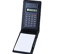 メモ付きハンディ電卓