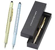 メタリック・5WAYボールペン 専用化粧箱印刷入