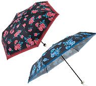 ローズブライト・晴雨兼用折りたたみ傘