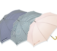 ボーダーレース・晴雨兼用長傘