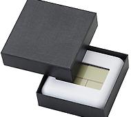 デジタル電波置き時計 専用化粧箱入