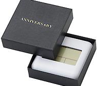 デジタル電波置き時計 専用化粧箱印刷入