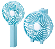 3WAY ハンディ扇風機(ライト付き)