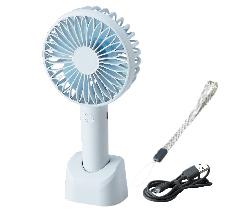 USB充電式2WAYハンディ扇風機