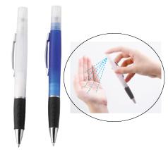 スプレーボールペン 除菌液なし