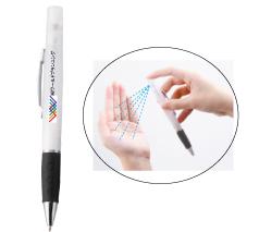 スプレーボールペン 除菌液なし フルカラー名入れ専用