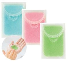 紙石鹸10枚入り (ケース付き)