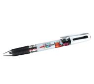 三菱鉛筆 2色ボールペン 全周フルカラー名入れ専用
