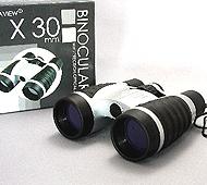 4倍率実用双眼鏡4X30