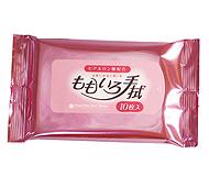 パールピンクウェットティッシュ10枚入(日本製)