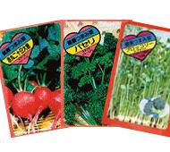 名刺型・野菜の種