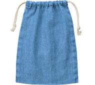 デニム巾着(M) ヴィンテージブルー