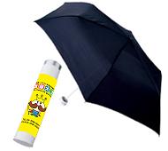 スリムボトルUV折りたたみ傘(晴雨兼用) 全周フルカラー名入れ専用