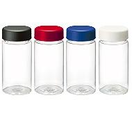 クリアタンクボトル500ml 回転シルク印刷