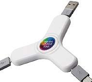 USBケーブル スピナー フルカラー名入れ専用