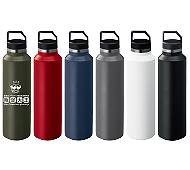 Zalattoサーモハンドルスリムボトル 440ml 回転シルク印刷